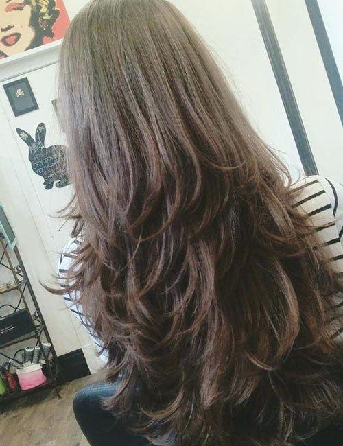 50 Gorgeous Long Layered Hairstyles   Long layered haircuts, Hair ...