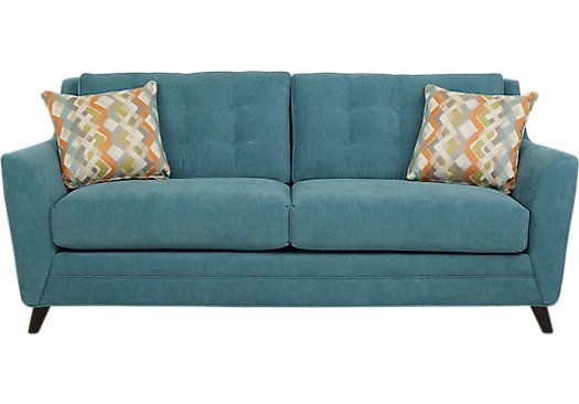 Included Teal Sofa Teal Loveseat Teal Corner Sofas