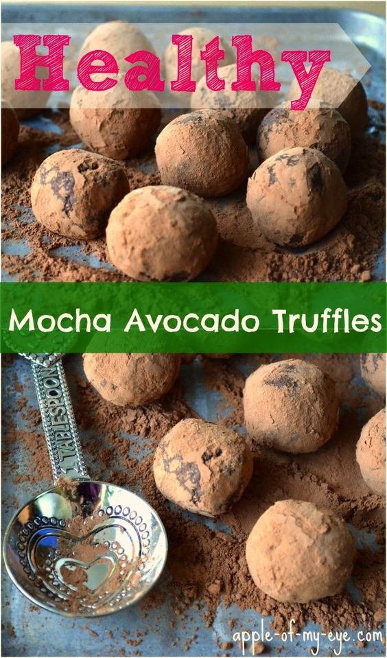 Mocha, Truffles and Avocado on Pinterest