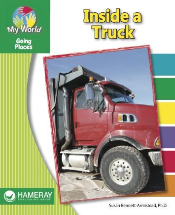 Inside a Truck - Have you ever wondered what parts a truck has? Find out in this book!