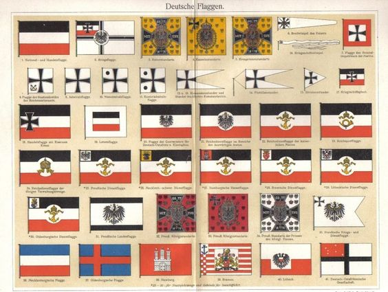 german flag information