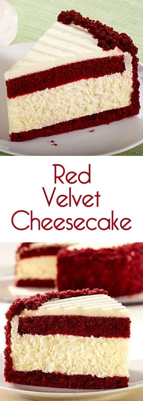 It's kind of the most amazing thing ever a red velvet layer-cake with a layers of cheesecake mixed in topped with cream cheese icing.