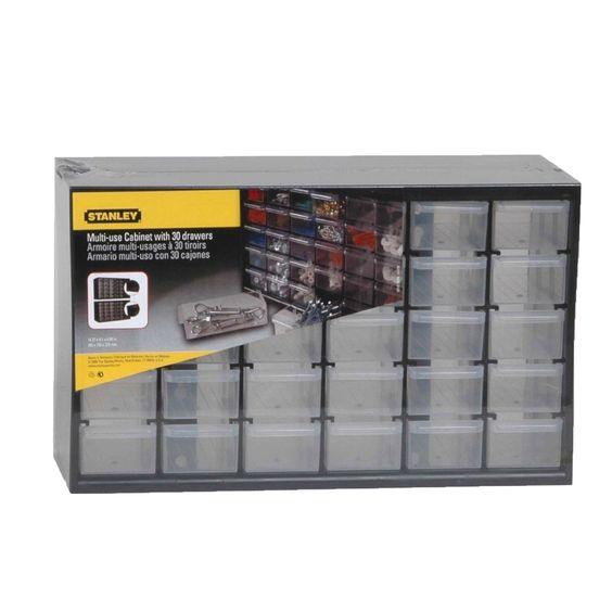 Stanley 1-93-980 Casier de rangement avec 30 compartiments: Amazon.fr: Bricolage