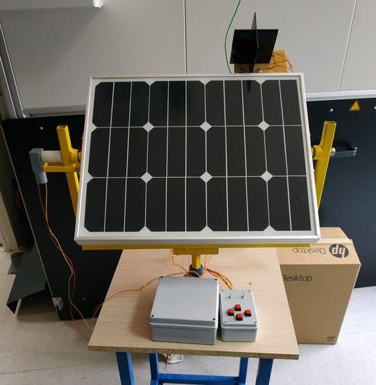 Solar Tracker 35w With Dc Motors Hackster Io Solar Tracker Solar Tracker