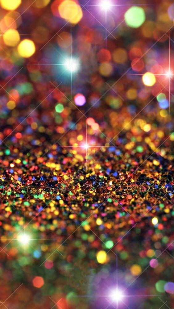 colorful glitter wallpaper ndash - photo #1