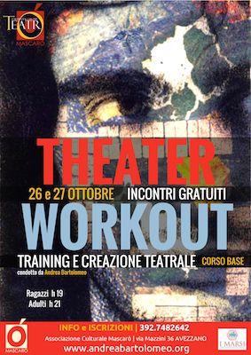 Avezzano, laboratori teatrali: incontri gratuiti il 26 e 27 ottobre