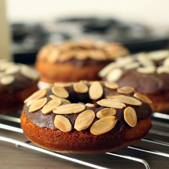 Grain Free Cinnamon Roll Donuts from Texanerin Baking