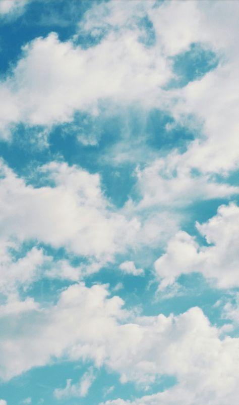 Blueaesthetic In 2020 Light Blue Aesthetic Blue Sky Wallpaper