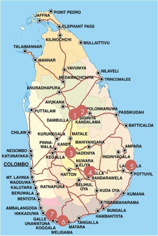 carte sri lanka routard Sri Lanka en famille avec enfants : l'avis du blog Voyage Family