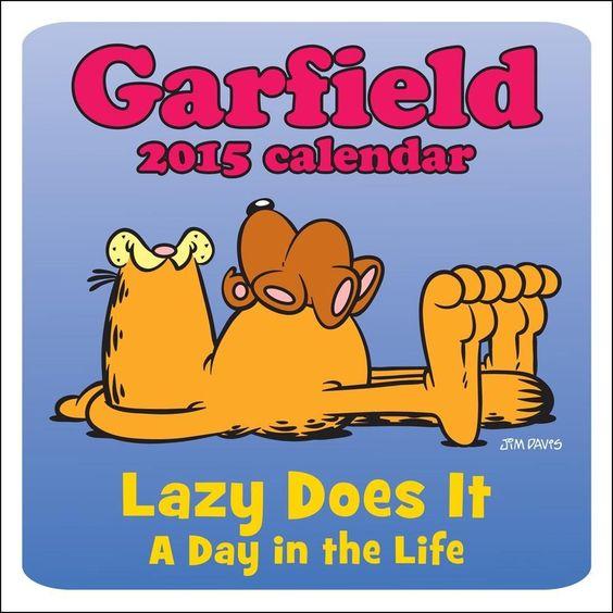 2015 Garfield Mini Wall Calendar Andrews McMeel Publishing