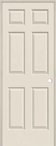 Supe cheap 6 panel hollow core interior prehung door unit beautiful discount doors for Where to buy cheap interior doors