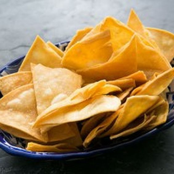 How to Make Homemade Tortilla Chips Recipe Lunch and Snacks with canola, chips, tortillas, kosher salt