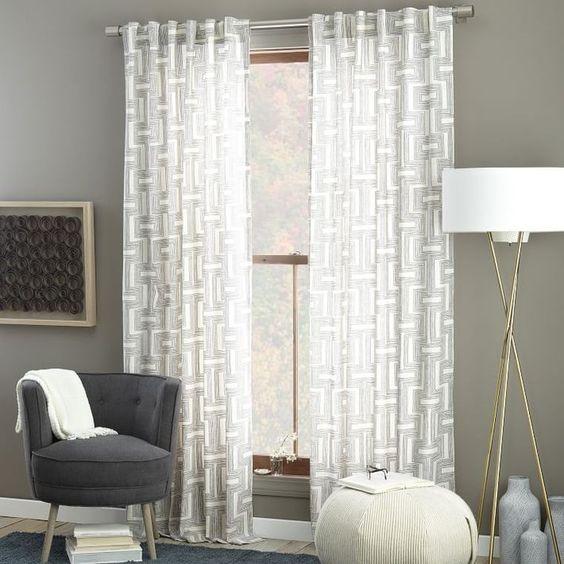 cortinas geometricas actuales
