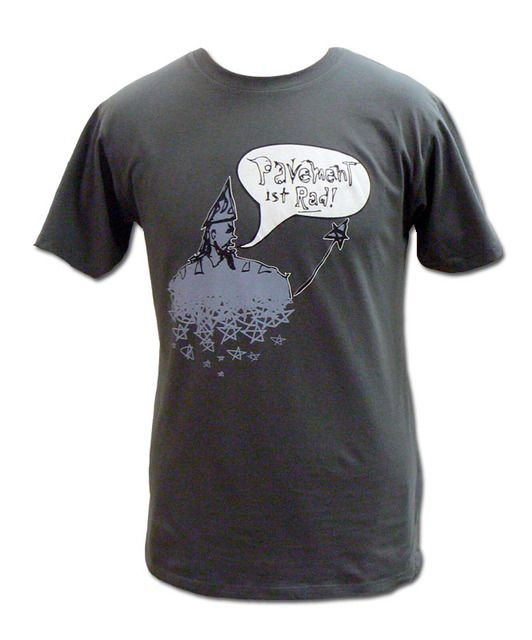 Pavement | Grey Wizard T-shirt -