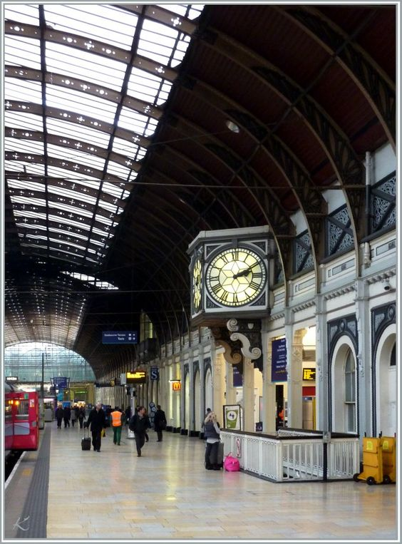 Paddington Station, London, UK.    Our hotel sites practically on top of this station....so convienant