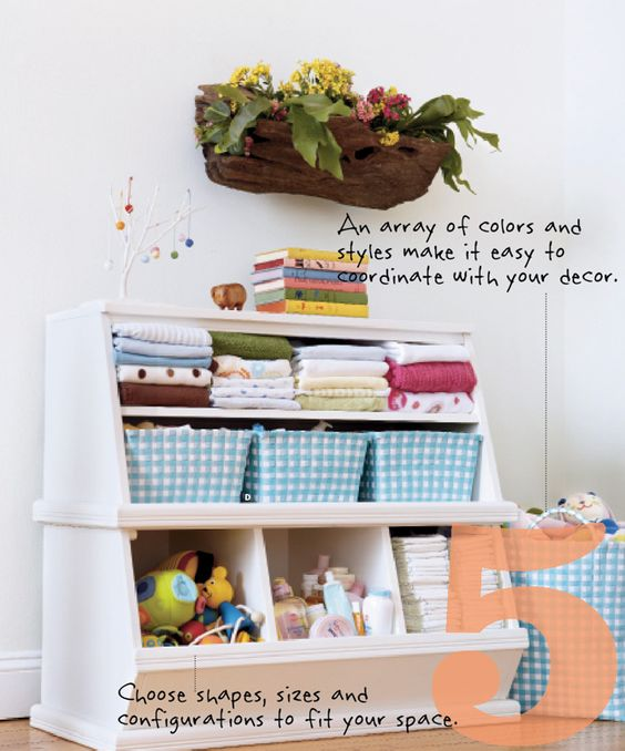 cute organization for nursery