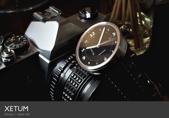 Xetum Stinson | black dial