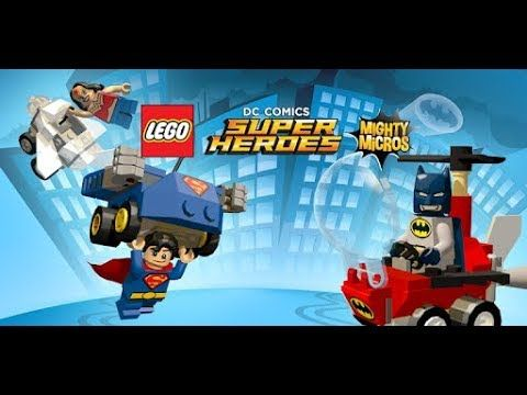 Lego Dc Super Heroes Mighty Micros Ios Android Full Game With