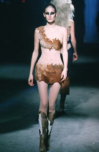 """Alexander McQueen - 1997 F/W rtw - """"It's a Jungle Out There"""""""