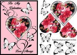 Valentine Love Always on Craftsuprint - View Now!