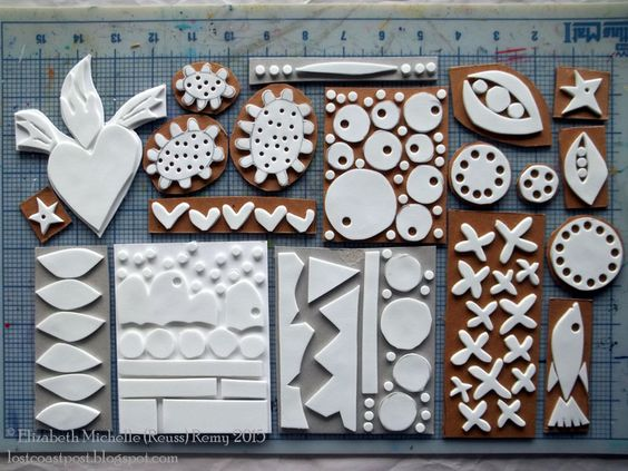 Lost Coast Post: Serendipithon Sundays: Handmade Foam Stamps