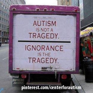 Help us spread #knowledge and #autism #awareness!!