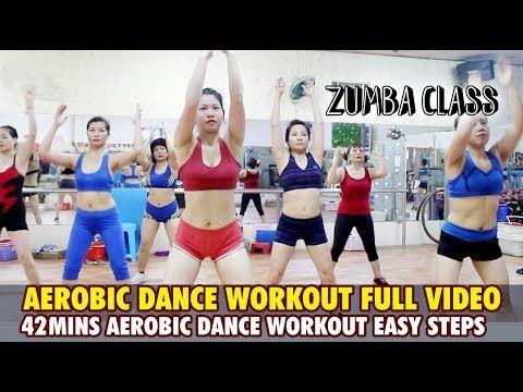 Treino De Danca Aerobica Video Completo Para Iniciantes L 42mins