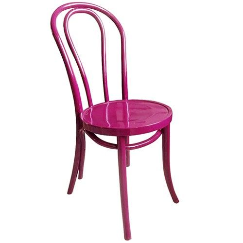 Bentwood Dining Chair 214 - Thonet Reproduction - Pink