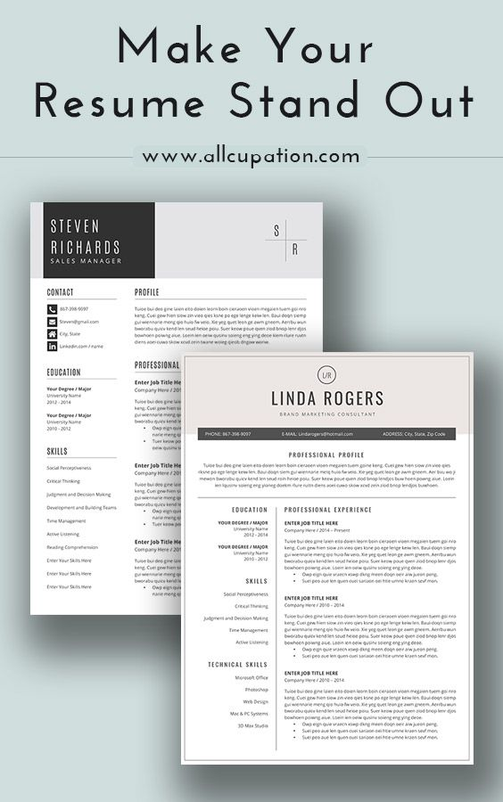 Give yourself a resume makeover Visit wwwallcupation for - what does a good resume look like