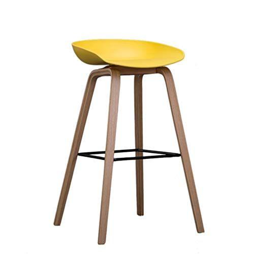 Szpzc Wooden Bar Stool Home Bar Chair Creative Bar Chair