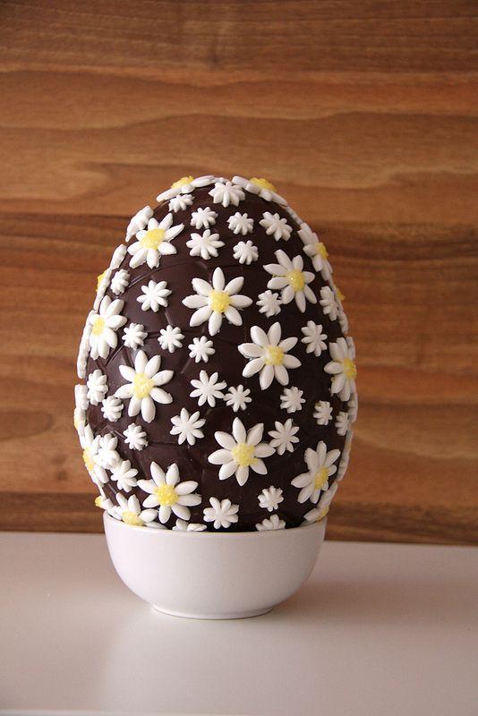huevo pascua decorado