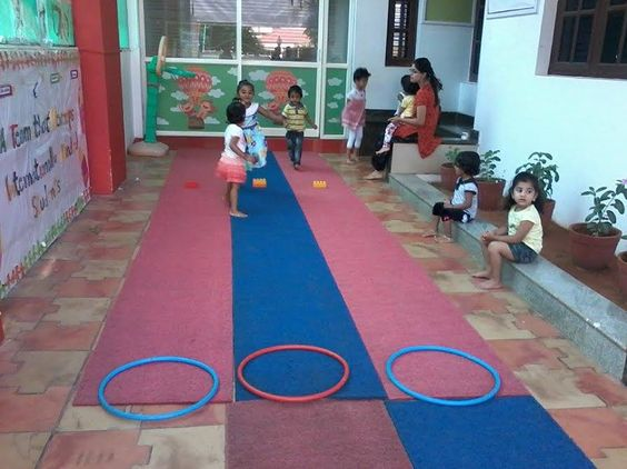 Out door activity @ Oi Playschool HSR layout