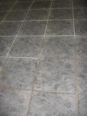 Grout Cleaner  ½ cup baking soda   1⁄3; cup household ammonia   ¼ cup white vinegar   7 cups warm water.  Trying this today.