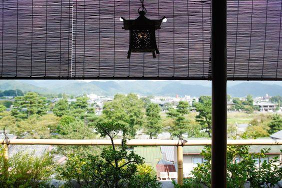 "Guest room: Aokawakaku ""Room with open-air bath""   Kyoto cuisine, Kyoto Arashiyama Onsen's long-established inn ""Togetsutei"" official website"