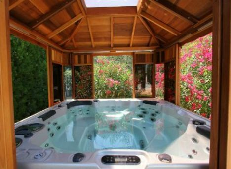 Pinterest le catalogue d 39 id es for Jacuzzi d exterieur