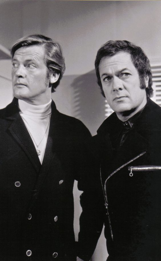 """Amicalement vôtre"" - Tony Curtis & Roger Moore - 1971"