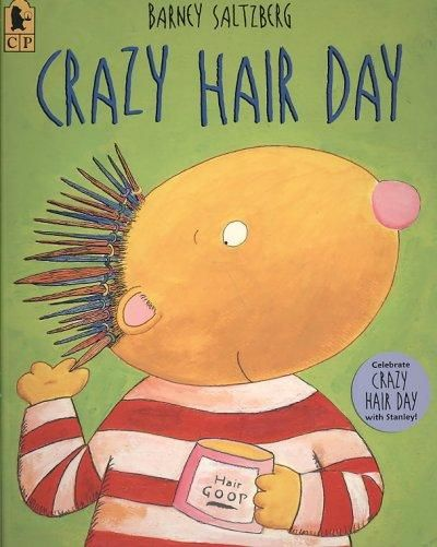 "Crazy Hair Day- ""this will be a day I will never forget"" One of my absolute favorite books..."
