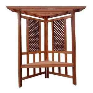 Blue Marble Designs Hideaway Arbor and Seat 100143 at The Home Depot