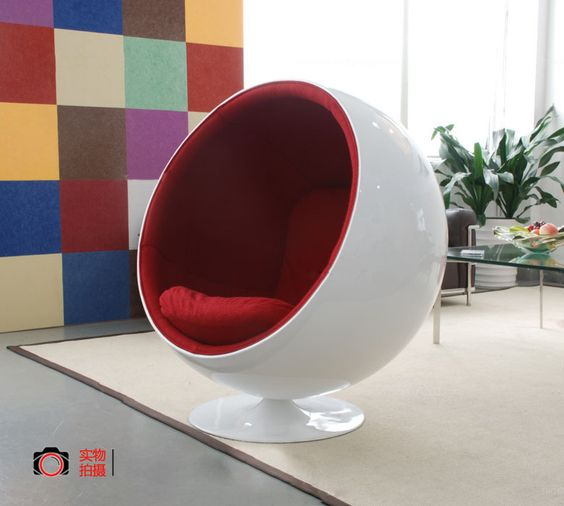 Pinterest the world s catalog of ideas Egg pod ball chair