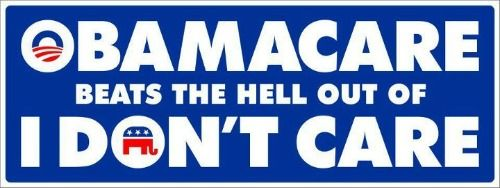 To Republicans, CARE is one of those BAD four letter words...   Well, they're right.  Obama cares, they don't.  Thanks for clearing that up for us.