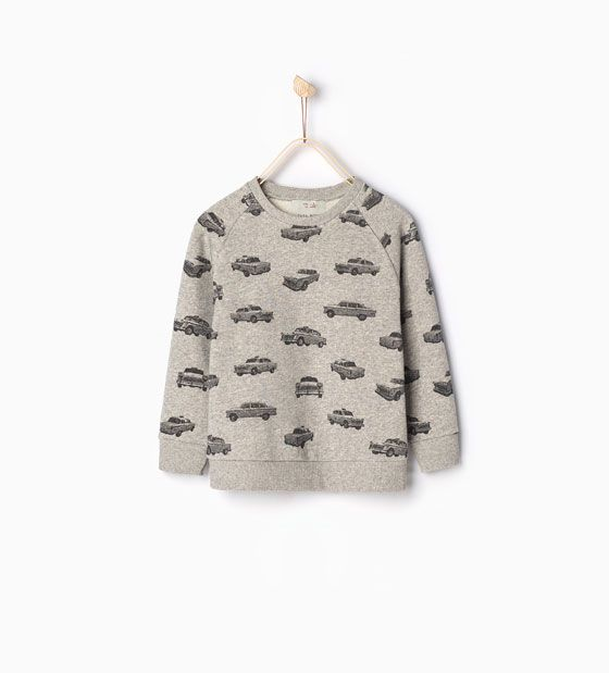 Zara Kids sweater - worn by Raphäel Emaleh: