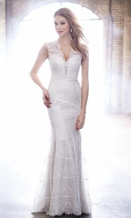 Madison James MJ158: buy this dress for a fraction of the salon price on PreOwnedWeddingDresses.com