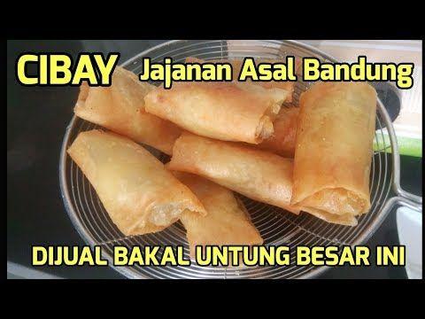 Resep Cibay Jajanan Asal Bandung Ini Dijual Bakal Untung Besar Youtube Memasak Ide Makanan Resep Makanan