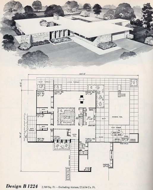 1950 homes floor plans   Recent Photos The Commons Getty Collection Galleries World Map App ...