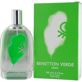 Launched by the design house of Benetton in 2009, BENETTON VERDE by Benetton for Men posesses a blend of: Cardamom, Melon, Cedar, Guaiac, And Benzoin. It is recommended for  wear.