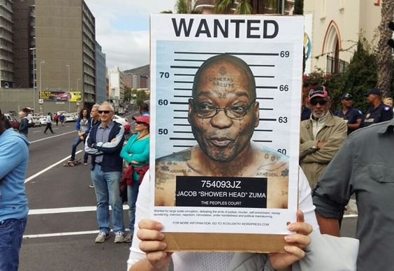 Hundreds of people have started gathering in Cape Town and Johannesburg, calling for President Jacob Zuma to fall. Watch.
