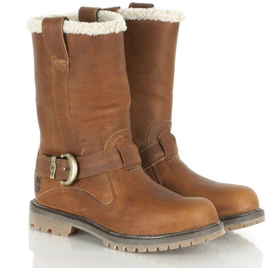 Pin for Later: The 18 Absolute Best Boots, Because Winter Is Coming Timberland Winter Boots Timberland Medium Brown Leather Nellie Pull-On Winter Women's Boot (£120)