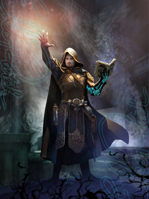Cleric-hi by ekoputeh on DeviantArt | D&D Classes: Arcane ...