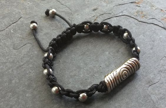 Check out this item in my Etsy shop https://www.etsy.com/listing/240576988/bullseye-mens-bracelet-shambala-bracelet