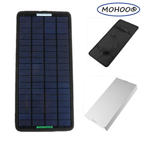 Solar Panel Charger Mohoo 18v 12v 75w Portable Solar Car Boat Power Sunpower Solar Panel Battery Charger Solar Panel Charger Solar Panel Battery Solar Charger